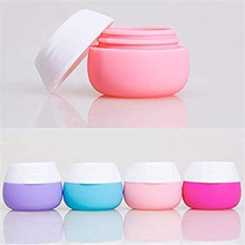 Силиконовые баночки для крема для наборов дорожных контейнеров для туалетных принадлежностей