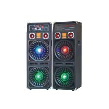 Doble 10 '' Profesional de etapa altavoz con luz F623