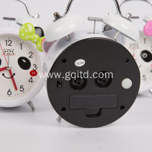 Cartoon style kids wake  up  bed alarm