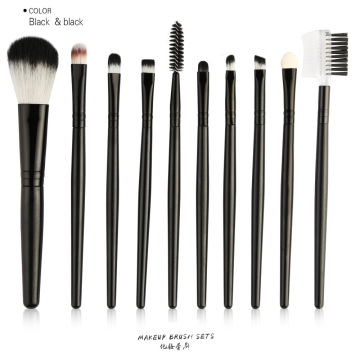 10-teiliges Reise-Make-up-Pinsel-Set
