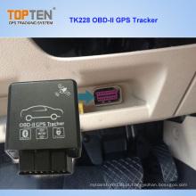 2g, detecção do combustível do apoio do perseguidor de 3G OBD GPS, código de erro lido Tk228-Ez