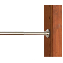 Indoor/Outdoor Stainless Steel Brushed Nickel Tension Rod
