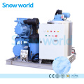 Снежный мир Flake Ice Machine для рыбы 5T