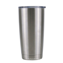 Stainless steel wine tumbler with logo custom double wall