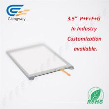 Cristal de pantalla táctil LCD de separación de 3,5 pulgadas
