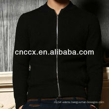 13STC5475 mens knitted zip up cardigan sweater