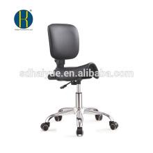 Стильный черный PU стильная парикмахерская стул