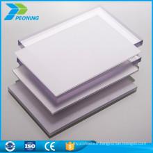 Prix publicitaire à prix bon marché feuille en plastique prismatique en polycarbonate plastique 10 mm
