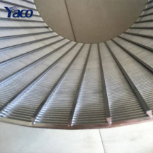 Hochwertiges V-förmiges geschweißtes 304 Edelstahlkeildrahtsiebrohr