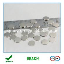 nickel plated N42 8mmx2mm Magnet für Kleidung