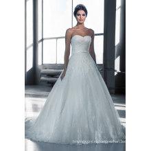 Лучшие Продажи Длинный Поезд-Line Свадебное Платье