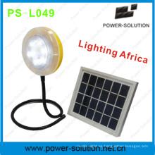 Luz solar versátil con cargador de teléfono