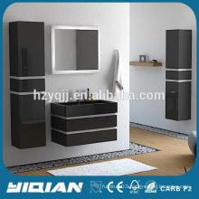 Wall Hanging Modern Italian Luxury Style MDF Lacquer Mirror Modular Bathroom Furniture