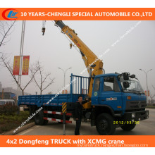4X2 Dongfeng Truck with XCMG Crane