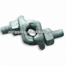 Clip de câble en acier forgé avec poignée