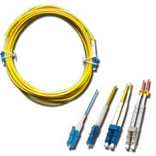 LC / PC Cable de fibra óptica multimodo de un solo modo