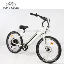 Green Power E Bike 2017 heißer Verkauf ebike elektrische Strand Cruiser Fahrrad 500W elektrisches Fahrrad