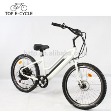 Green Power e bicicleta 2017 venda quente ebike bicicleta elétrica da praia cruiser 500 W bicicleta elétrica