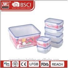 heißer Verkauf quadratische Hamburger Form Lebensmittel Verpackung Lunch-box