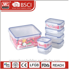 hot selling square hamburger shape food packaging lunch box