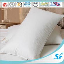 Taie d'oreiller d'insertion d'oreiller de fibre de boule duo de bambou de tissu de coton pour l'hôtel