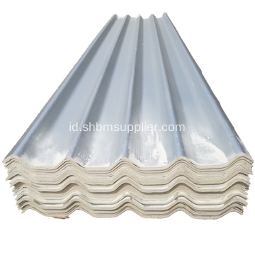 Isolasi Panas Magnesium Oxide Grey Roofing Sheet