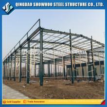 Structure métallique préfabriquée Construction en toiture Construction en acier léger
