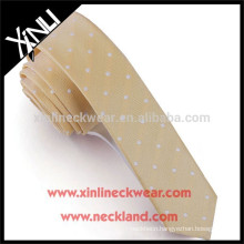 100% Handmade Perfect Knot Skinny Polyester Necktie For Girls