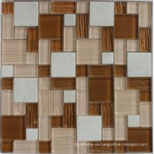 Mosaico de piedra de mármol para la pared / el agua Decoración del piso de Madellion