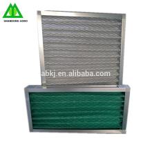 Г4 основной панели, моющиеся промышленный воздушный фильтр с синтетическим волокном