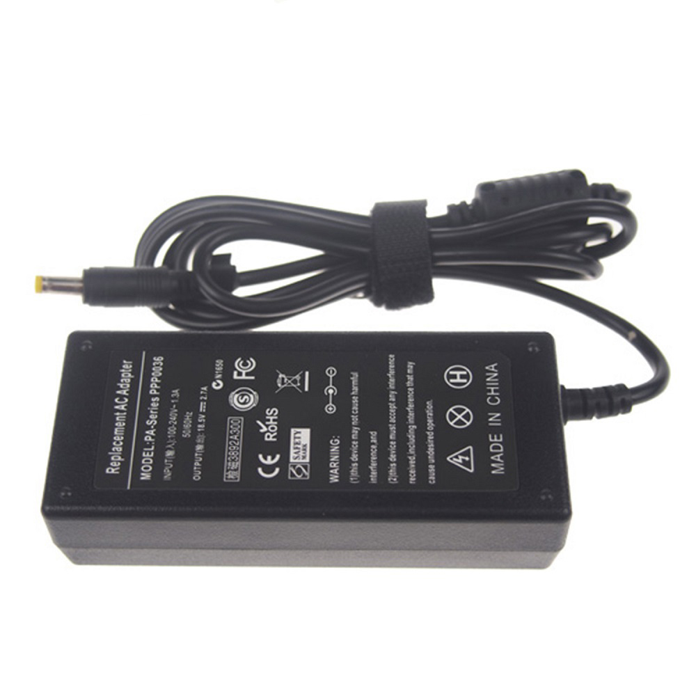 18.5V 2.7A AC DC laptop charger adapter
