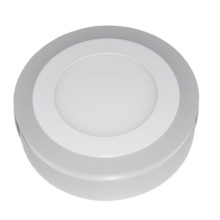 Светодиодный потолочный/горячая распродажа двойной Цвет круглый световой панели