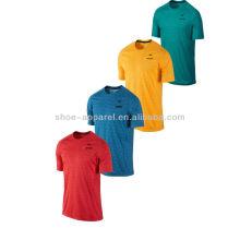 2014 mens lightweight comfort running shirts,running wear