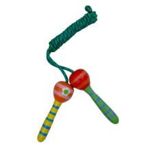 Halten Sie Fit Kleine Größe Holz Jump Seil Spielzeug