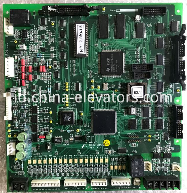 HELCO MAIN BOARD for Hyundai Elevator HIVD 700G Inverter