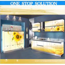 L Shape 2015 Nuevo diseño muebles de cocina (3D0014)