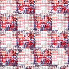 100% Polyester Printed Satin Fabric (PFF-048)