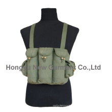 Military Canvas Ak47 Bullet Tactical Truhe / Weste (HY-V043)