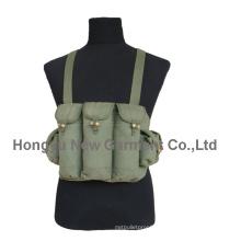 Militar lona Ak47 bala tático peito / colete (hy-v043)