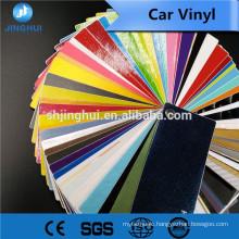 Waterproof glossy laminated die cutting 140gsm hot sale printing car vinyl stiker for digital printing