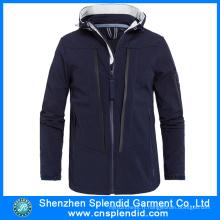 2016 Hot vente hiver Softshell vestes noires de Chine