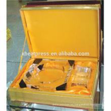 personalizado hermoso regalo de bricolaje cenicero de cristal / personal