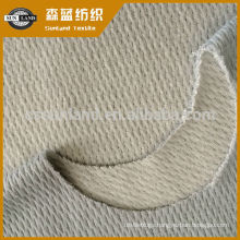 knit warm cotton polyester spandex honeycomb mesh fabric for winter hoodie