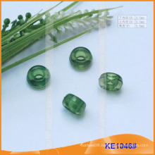 Fashion Plastic cord end or bead for garments KE1046#