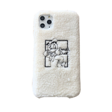 Donald Duck Phone Case Stickerei Softcover