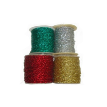 Cheap sale metallic silver elastic cord