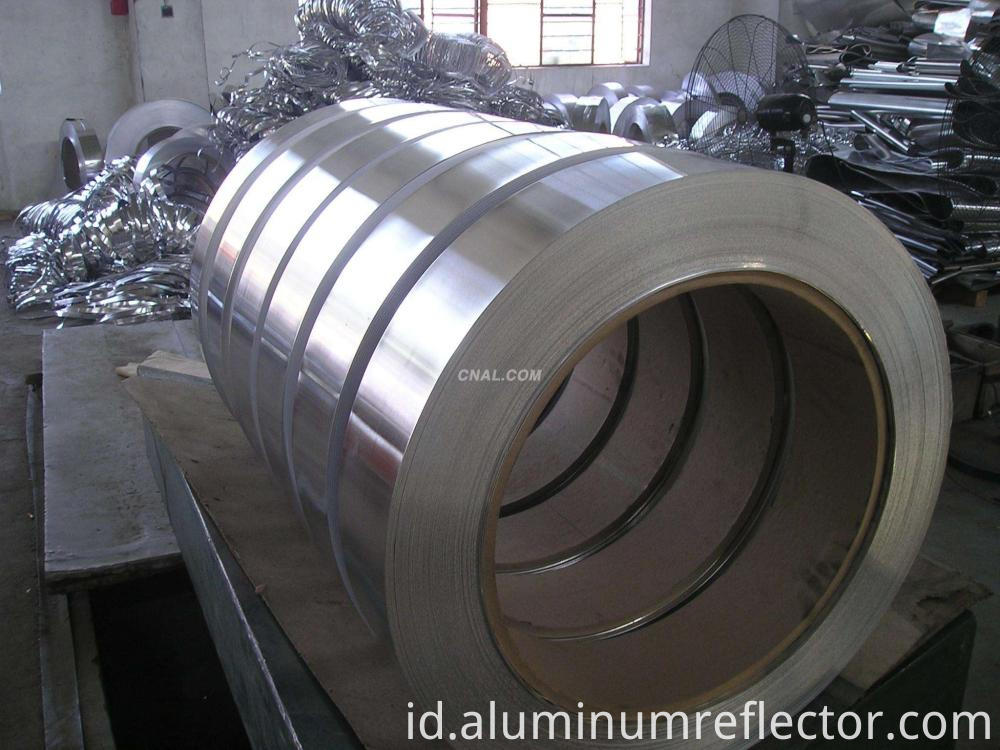 Roll of aluminum coil