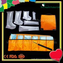 Combinaison d'attelle gonflable médical (pH09-068)