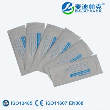 Poche de moulage à plat pour la stérilisation par thermoscellage