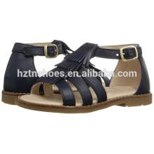 2016 Summer Sandal Shoes Детская одежда Модные плоские сандалии